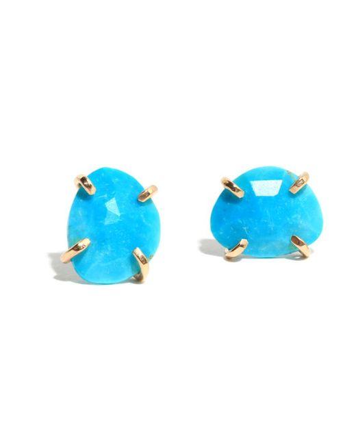 Melissa Joy Manning   Blue Turquoise Stud Earrings   Lyst