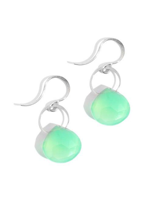 Melissa Joy Manning | Green Chrysoprase Single Drop Earrings | Lyst