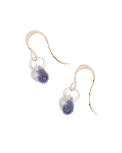 Melissa Joy Manning | Purple Iolite Drop Earrings | Lyst