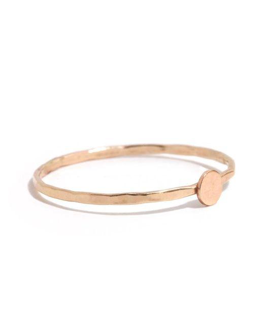 Melissa Joy Manning | Metallic Solid Circle Ring | Lyst