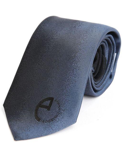 Armani   Blue Fleck Print Silk Tie for Men   Lyst