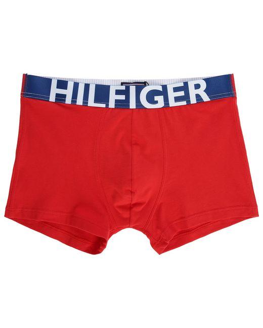 tommy hilfiger red colour block boxer shorts in red for. Black Bedroom Furniture Sets. Home Design Ideas