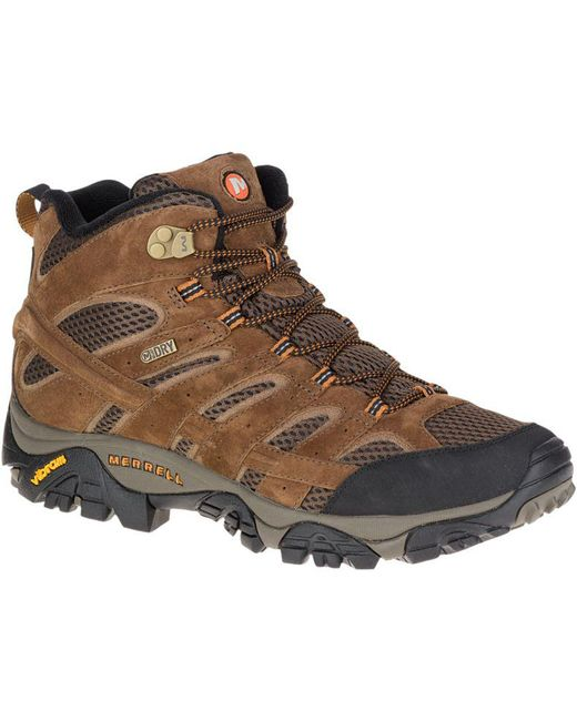 Merrell - Brown Moab 2 Mother Of All Bootstm Mid Waterproof Wide Width for Men - Lyst