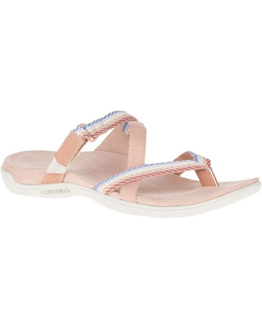Merrell - Pink District Mendi Thong - Lyst