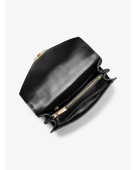 55207ec9e57d ... Michael Kors - Black Whitney Large Butterfly Camo Convertible Shoulder  Bag - Lyst ...