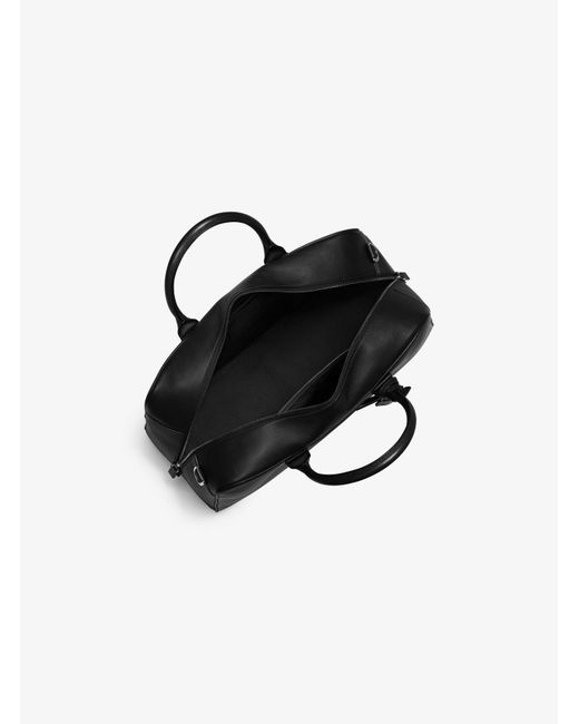 Michael Kors | Black Dylan Medium Leather Duffel Bag for Men | Lyst