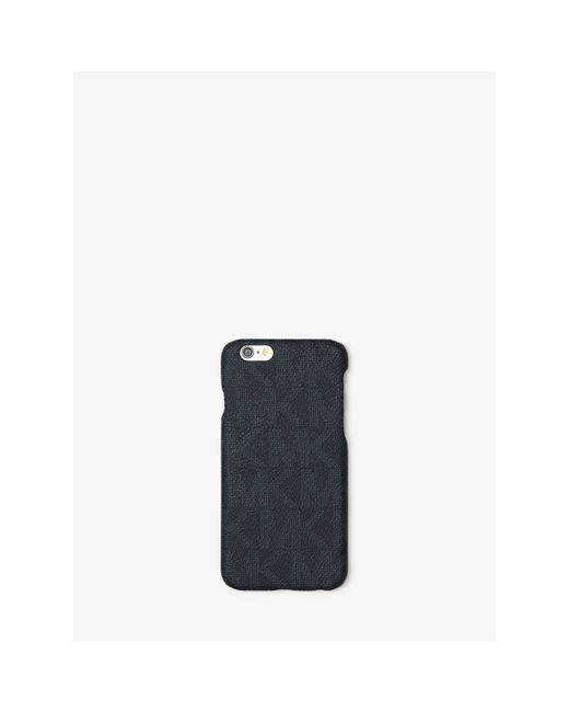 Michael Kors | Blue Logo Phone Case For Iphone 6 for Men | Lyst