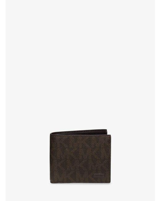 Michael Kors | Brown Jet Set Billfold Wallet for Men | Lyst