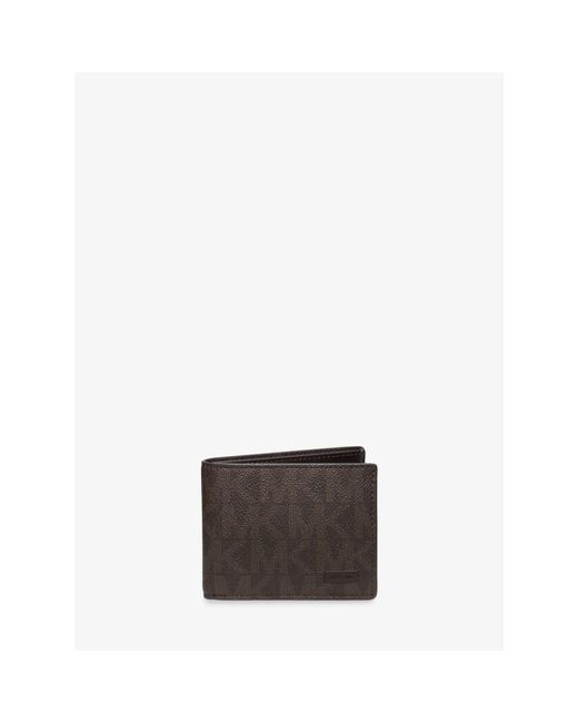 Michael Kors   Brown Jet Set Slim Billfold Wallet for Men   Lyst