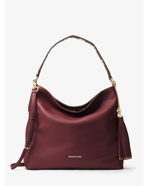 Michael Kors - Multicolor Brooklyn Large Leather Shoulder Bag - Lyst