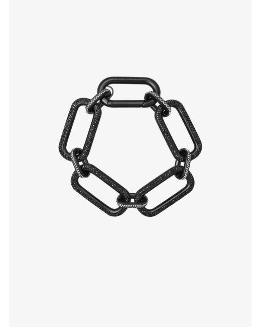 Michael Kors - Black-tone Chain-link Bracelet - Lyst