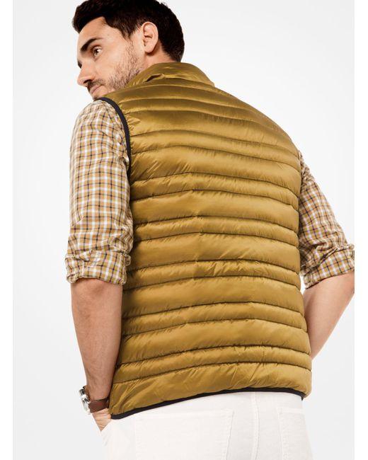 Michael Kors | Multicolor Quilted-nylon Vest for Men | Lyst
