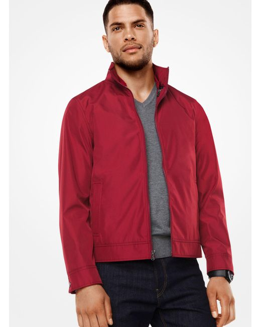 Michael Kors | Red 3-in-1 Tech Track Jacket for Men | Lyst