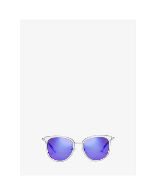 Michael Kors   Blue Adrianna I Sunglasses   Lyst