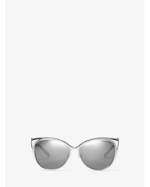 Michael Kors | Metallic Ina Cat-eye Sunglasses | Lyst