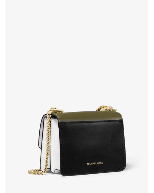 b22fd26c0b1d ... MICHAEL Michael Kors - Multicolor Jade Extra-small Tri-color Leather  Crossbody Bag ...
