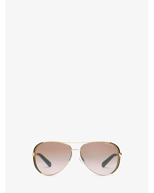 Michael Kors - Metallic Chelsea Sunglasses - Lyst