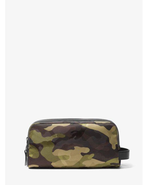 Michael Kors - Multicolor Kent Camouflage Nylon Travel Case for Men - Lyst