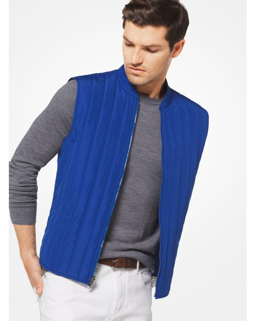 Michael Kors | Blue 3-in-1 Tech Track Jacket for Men | Lyst