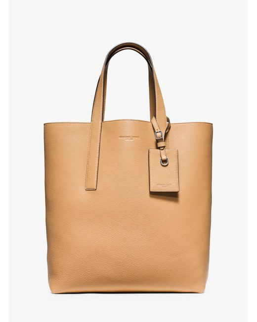Michael Kors - Natural Reversible Mason Leather Tote for Men - Lyst