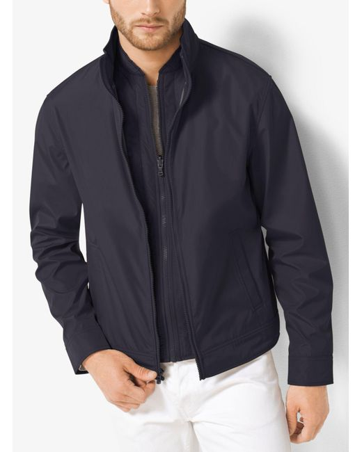 Michael Kors | Blue 3-in-1 Tech Track Jacket for Men | Lyst
