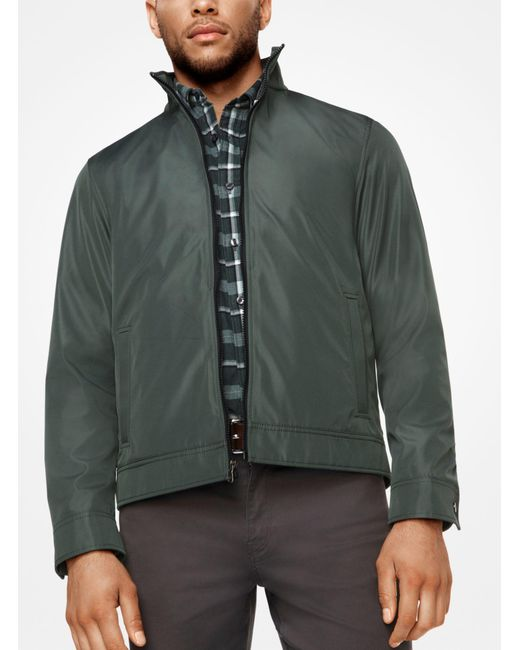Michael Kors - Green 3-in-1 Tech Track Jacket for Men - Lyst