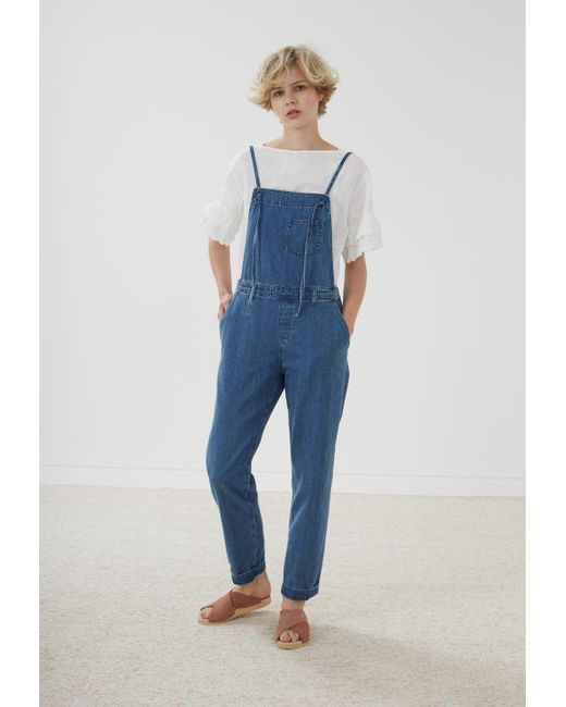 M.i.h Jeans | Blue Lindvall Dungarees | Lyst