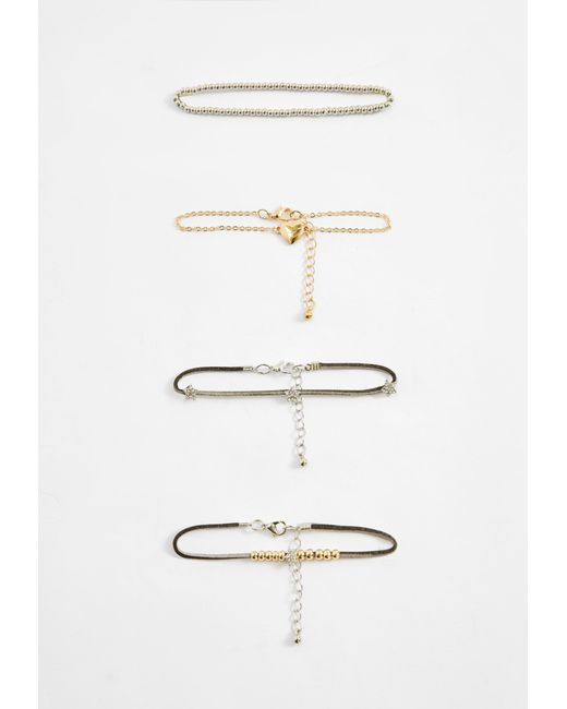 Missguided | Multicolor Heart Detail Bracelet Pack | Lyst