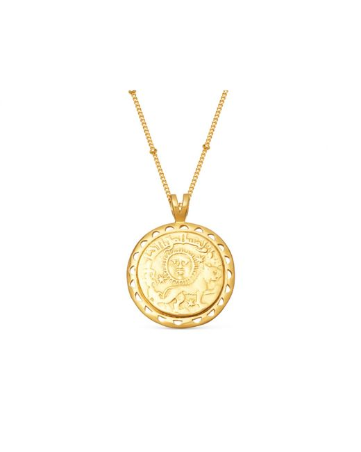 Missoma - Metallic Lucy Williams X Rising Sun Medallion Necklace - Lyst