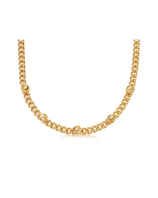 Missoma Metallic Lucy Williams Gold Lucky Charm Chain Necklace