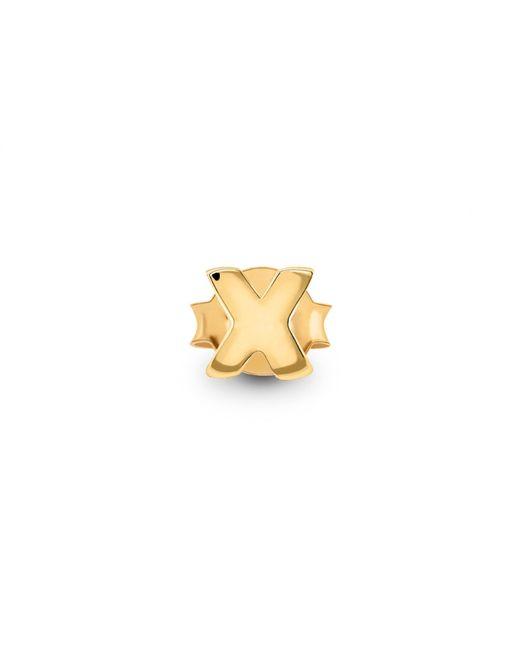 Missoma - Metallic Single Gold X Stud - Lyst
