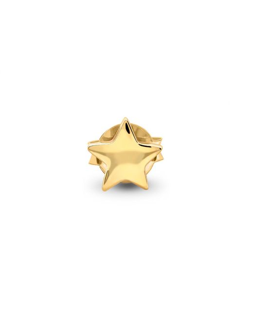 Missoma - Metallic Single Gold Star Stud - Lyst