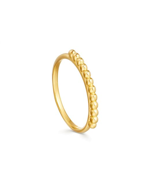 Missoma - Metallic Lucy Williams X Roman Beaded Ring - Lyst