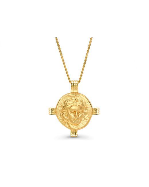 Missoma - Metallic Lucy Williams X Apollo Medallion Necklace - Lyst