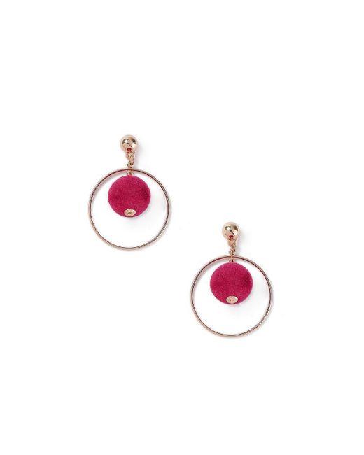 Miss Selfridge - Multicolor Ball Drop Earrings - Lyst
