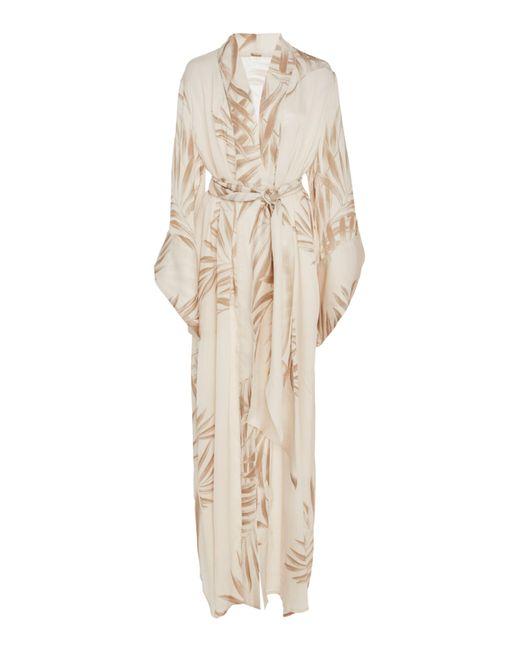 Johanna Ortiz - Natural Buena Vista Printed Silk Kimono - Lyst