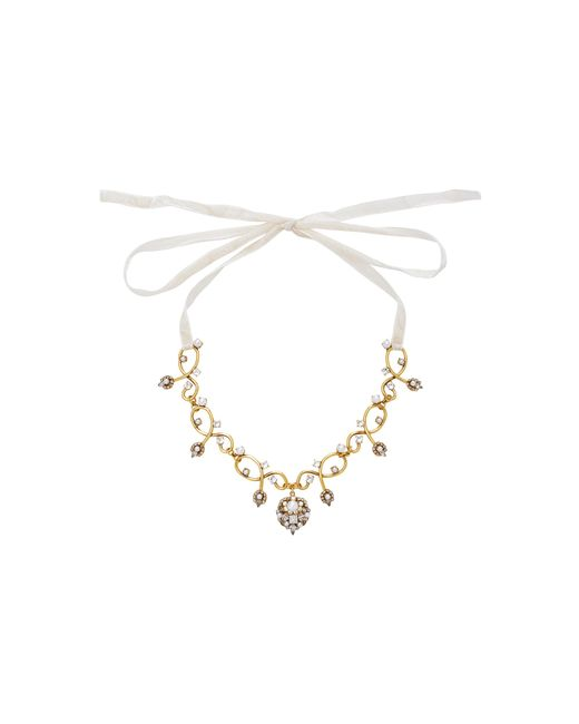 Erickson Beamon | Metallic My One And Only Crystal And Pearl Necklace | Lyst