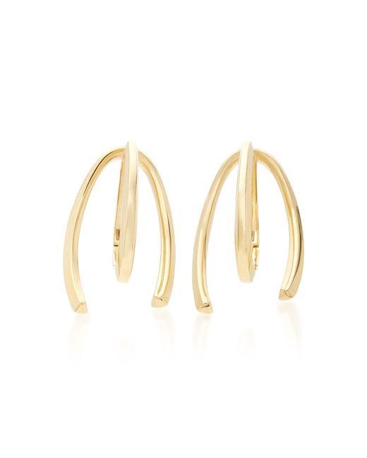 Bea Bongiasca - Metallic Honeysuckle 9k Gold Long Earrings - Lyst