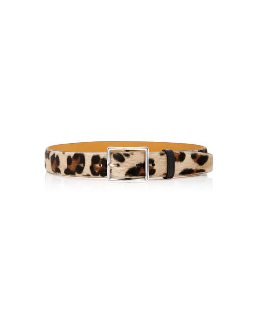 Maison Vaincourt - Multicolor M'o Exclusive Panther-print Belt - Lyst