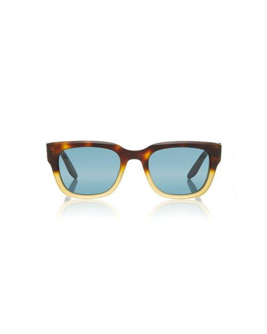 Barton Perreira Brown Stax Two-tone Acetate Sunglasses for men