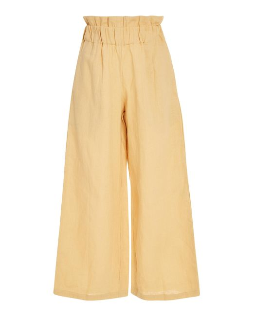 Faithfull The Brand - Yellow Varadero Pant - Lyst