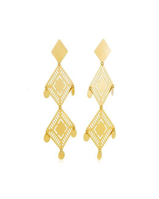 Paula Mendoza - Metallic Kambiru Gold-plated Brass Earrings - Lyst