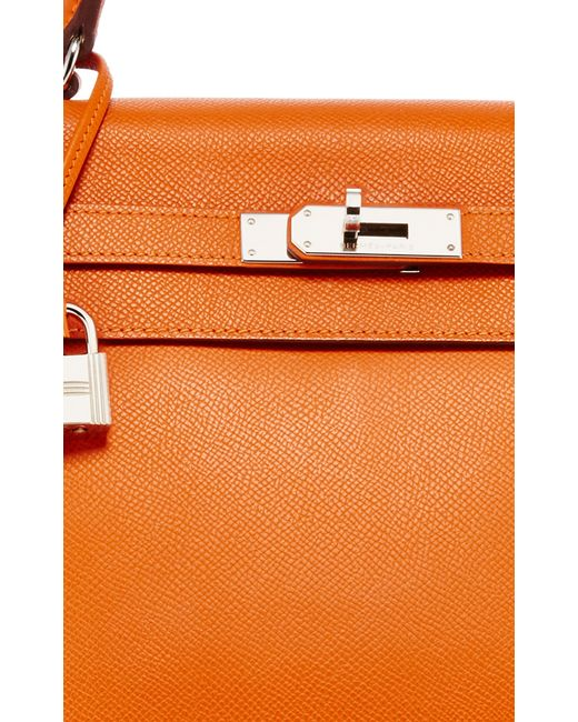 fake hermes bag - Heritage auctions special collection Hermes 35cm Orange H Epsom ...