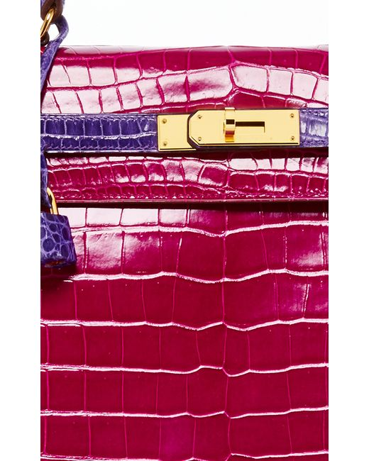 Heritage auctions special collection Hermes 35cm Rose Shocking ...