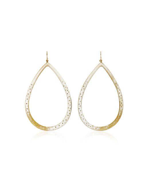 Ashley Pittman - Metallic Kambi Horn And Bronze Earrings - Lyst