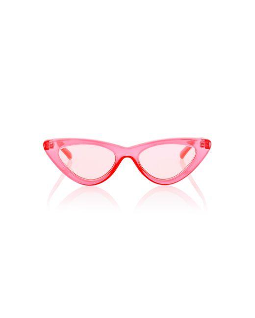 814ac1aef10 Le Specs - Pink The Last Lolita Cat-eye Sunglasses - Lyst ...