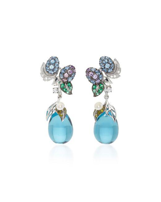 Anabela Chan   Blueberry Drop Earrings   Lyst