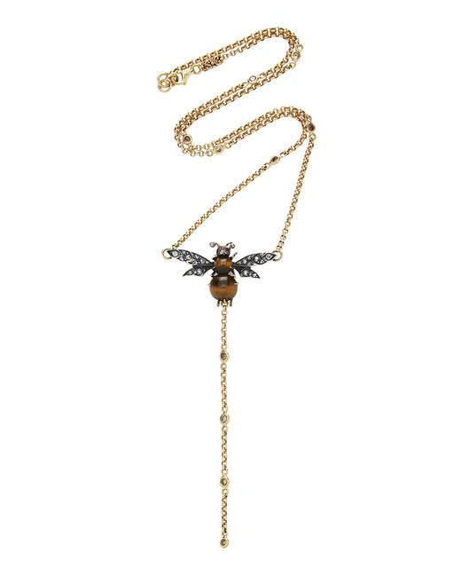Sylvie Corbelin - Metallic M'o Exclusive: One-of-a-kind Bee Necklace - Lyst