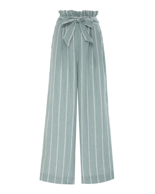 Suboo - Green Horizon Wide Leg Pant - Lyst