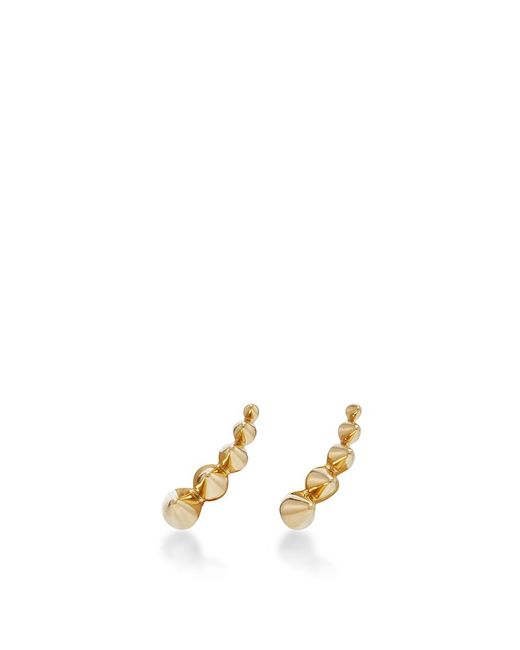 Noor Fares | Metallic Geometry 101 Five Cone Stud Earrings | Lyst
